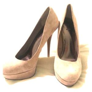 Bakers Nude Platform Pumps